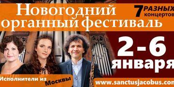Новогодний органный фестиваль