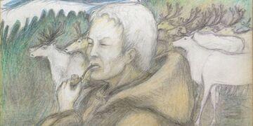 Рисунки оленевода