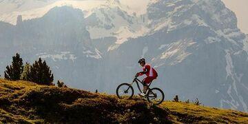 Велосипедные соревнования на перевал Чеховский