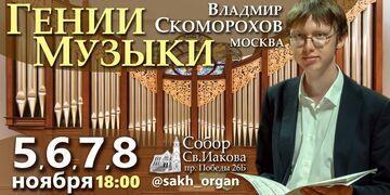 Органист Владимир Скоморохов (Москва)
