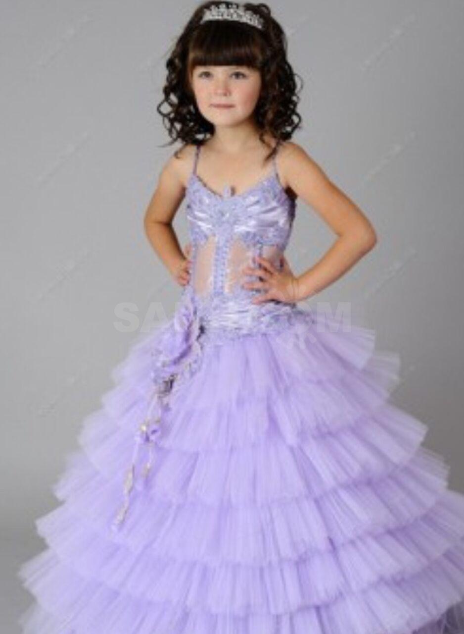 bdab7a1420ffda6 Продается детское платье. Очень красивое. Голубого цвета. На возраст 6-7  лет.