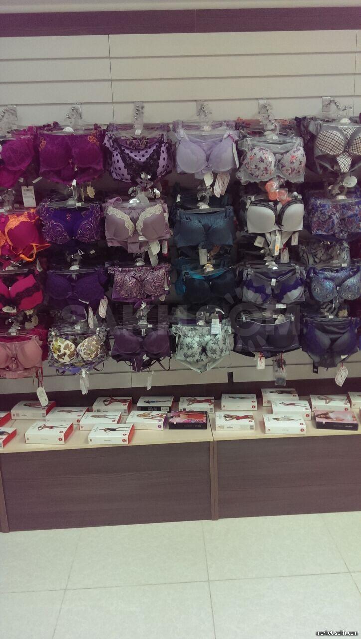 Магазины женского белья южно сахалинска женские стринги набор