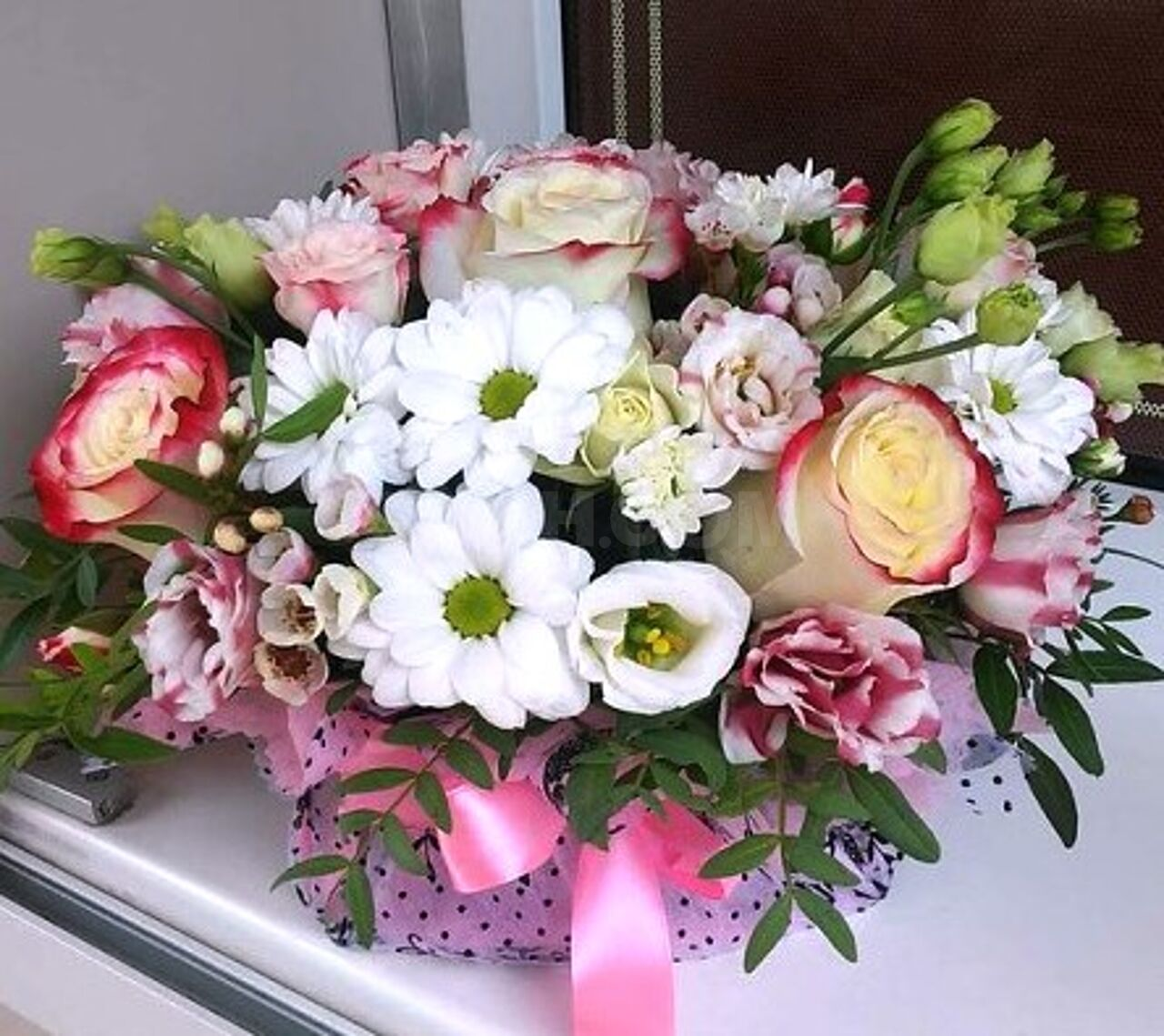 Цветы, букет цветов для выпускницы красноярск