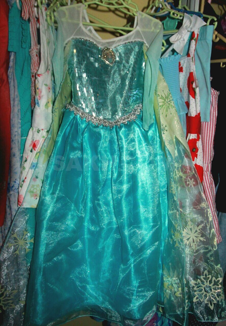 2cb4d15dc Платье пышное, синтетика, туфли пластик и текстиль, на каблучках,  внутренняя длина туфель, по