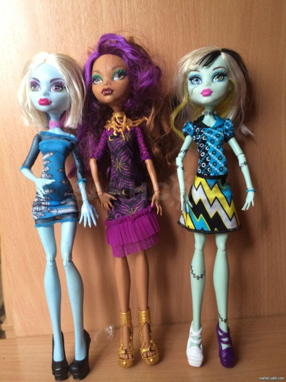 7803ccf0839 Продаются куклы монстер хай. 700 рублей каждая. Состояние идеальное. Можно  писать смс