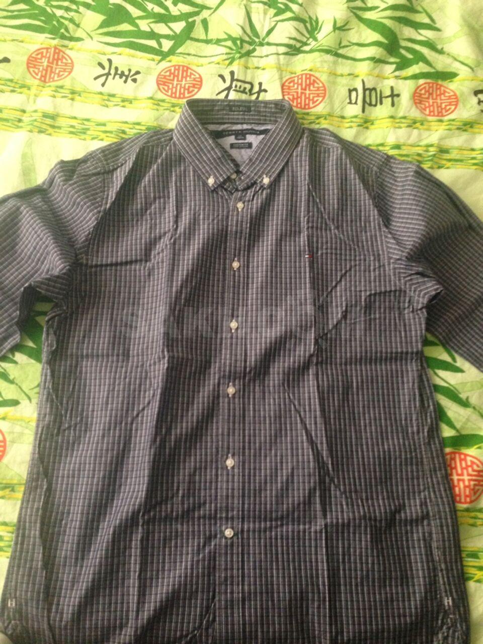 Продам рубашку новую Tommy hilfiger размер L G - 3000 руб. Одежда ... fc19ca32211d9