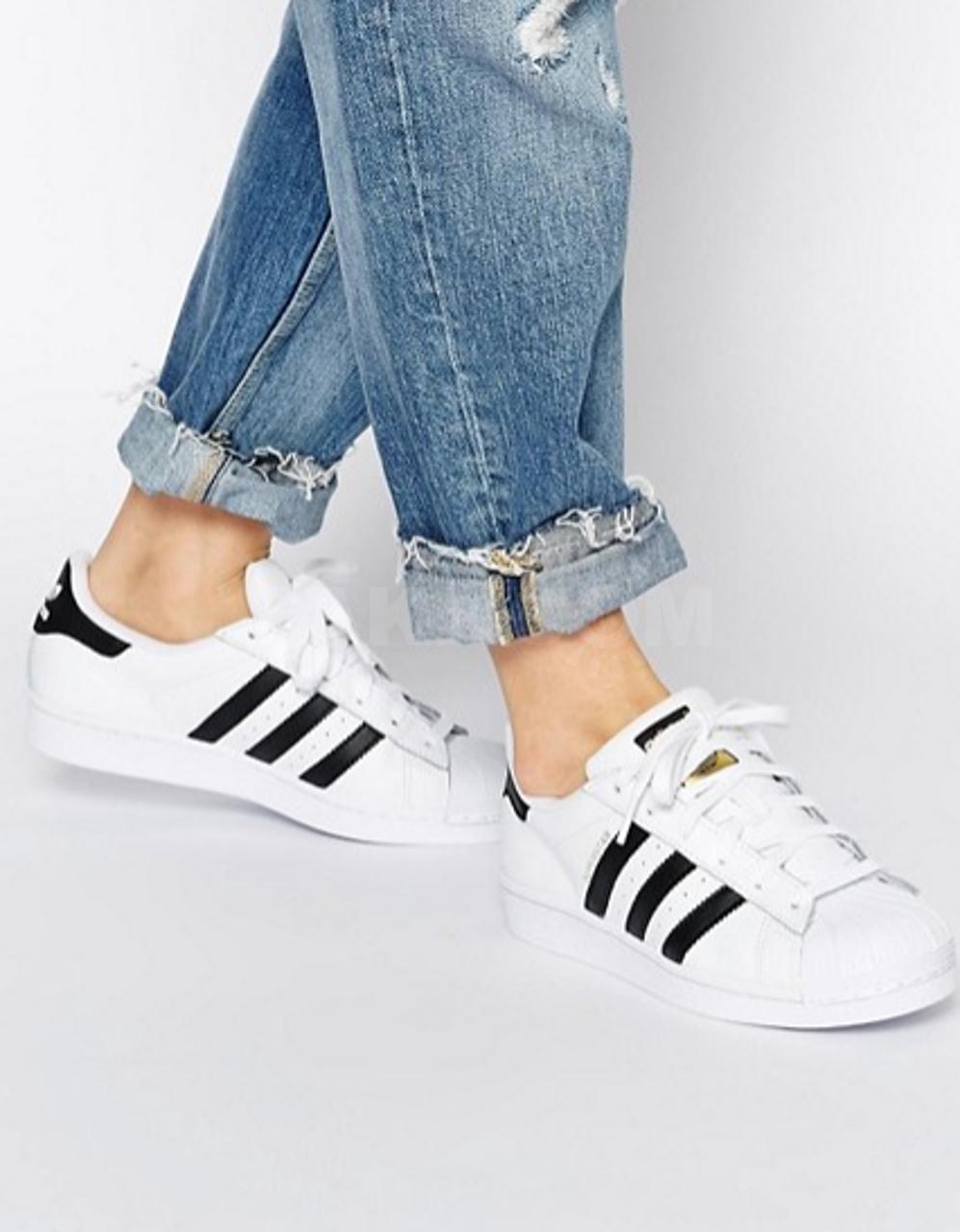 Кроссовки adidas Originals Superstar чёрно-белые Unisex - 4500 руб ... c302070a680