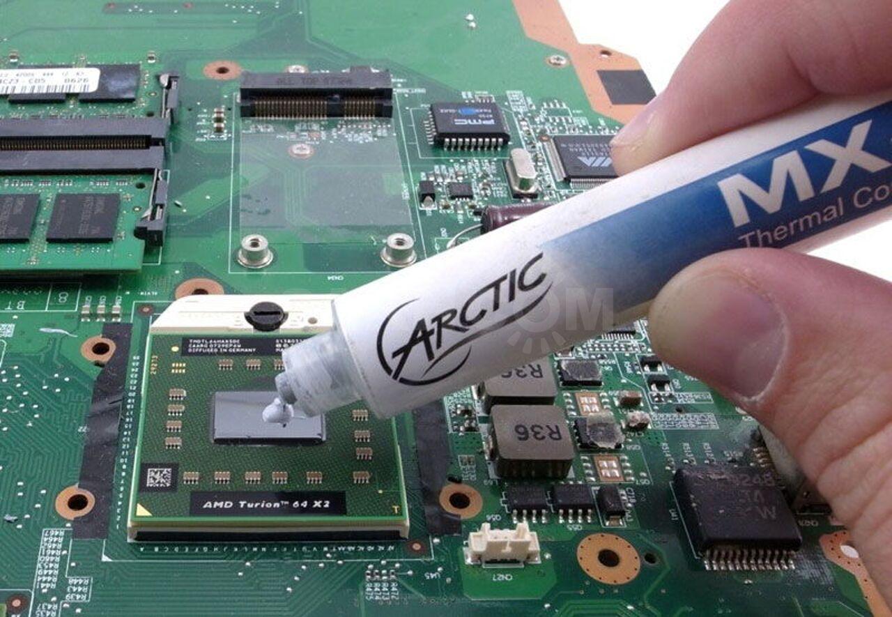 Замена термопасты на компьютере Калининград