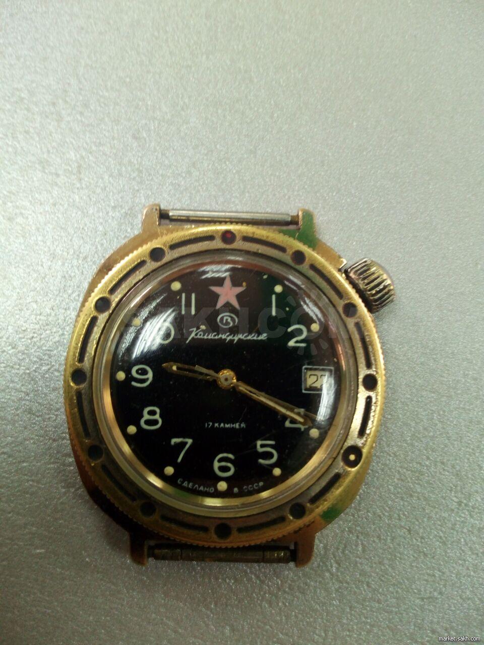 Командирские продам часы продать часы на запчасти