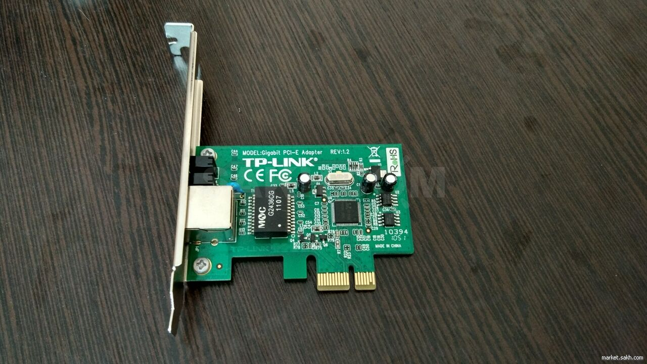 1 Pci E Tp Link Tg 3468 Gigabit Express Network Adapter