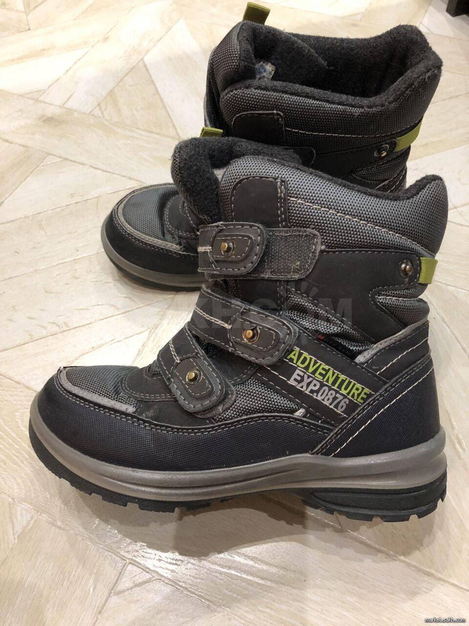 d266d108 Продам зимние ботинки на мальчика фирмы Котофей, 35 р, шерстяная стелька,  очень тёплые,б/у один сезон,в отличном состоянии.