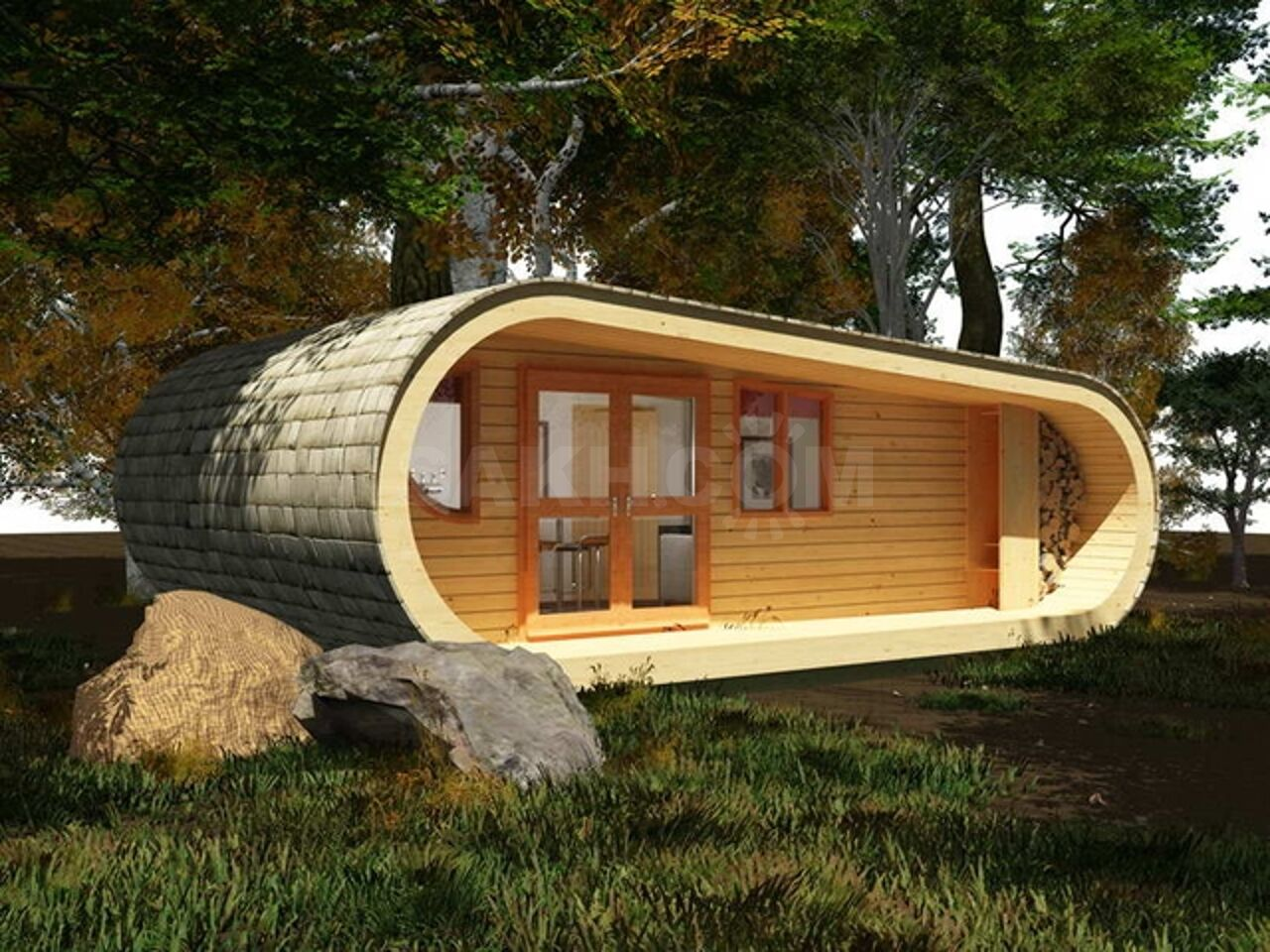 сколько стоит построить небольшой домик