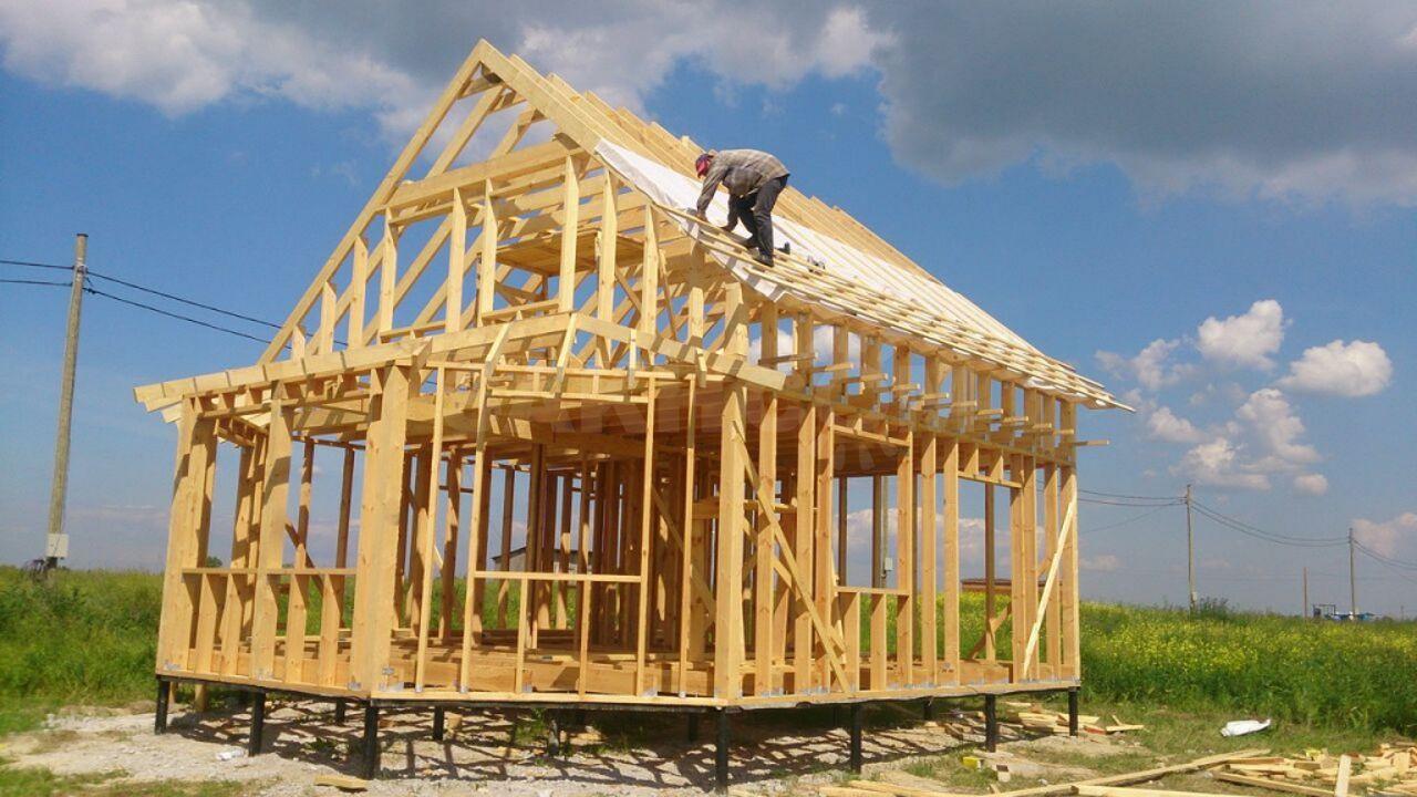 сколько стоит построить дом своими силами