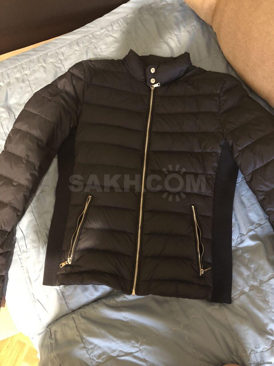 Продам куртку, покупала во Владивостоке в магазине ZARA, схватила не мерив,  одела один раз и поняла, что в груди маловата! Размер s, качество хорошее,  ... b6d224d7558