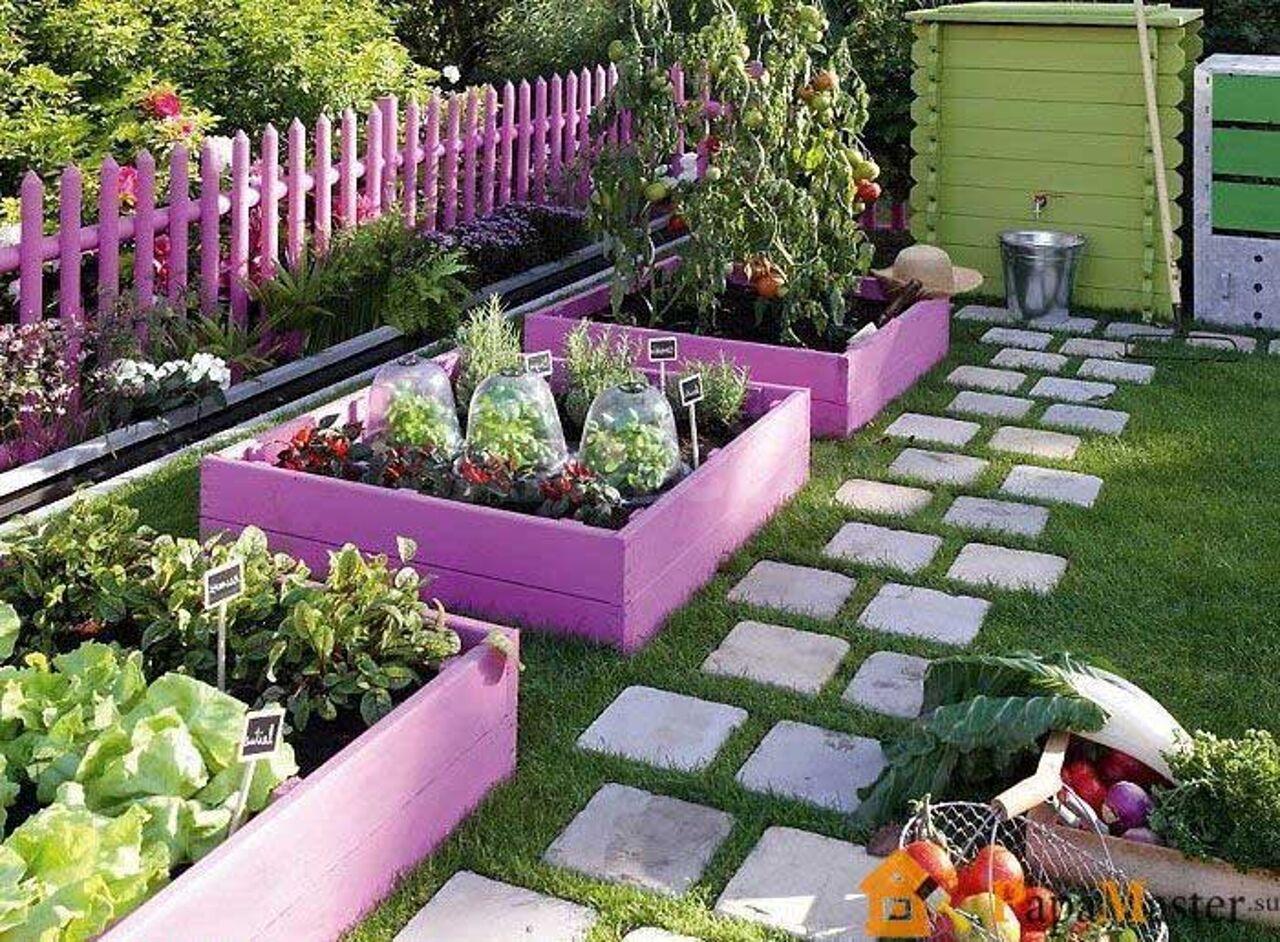 картинки оформить огород сад подарил