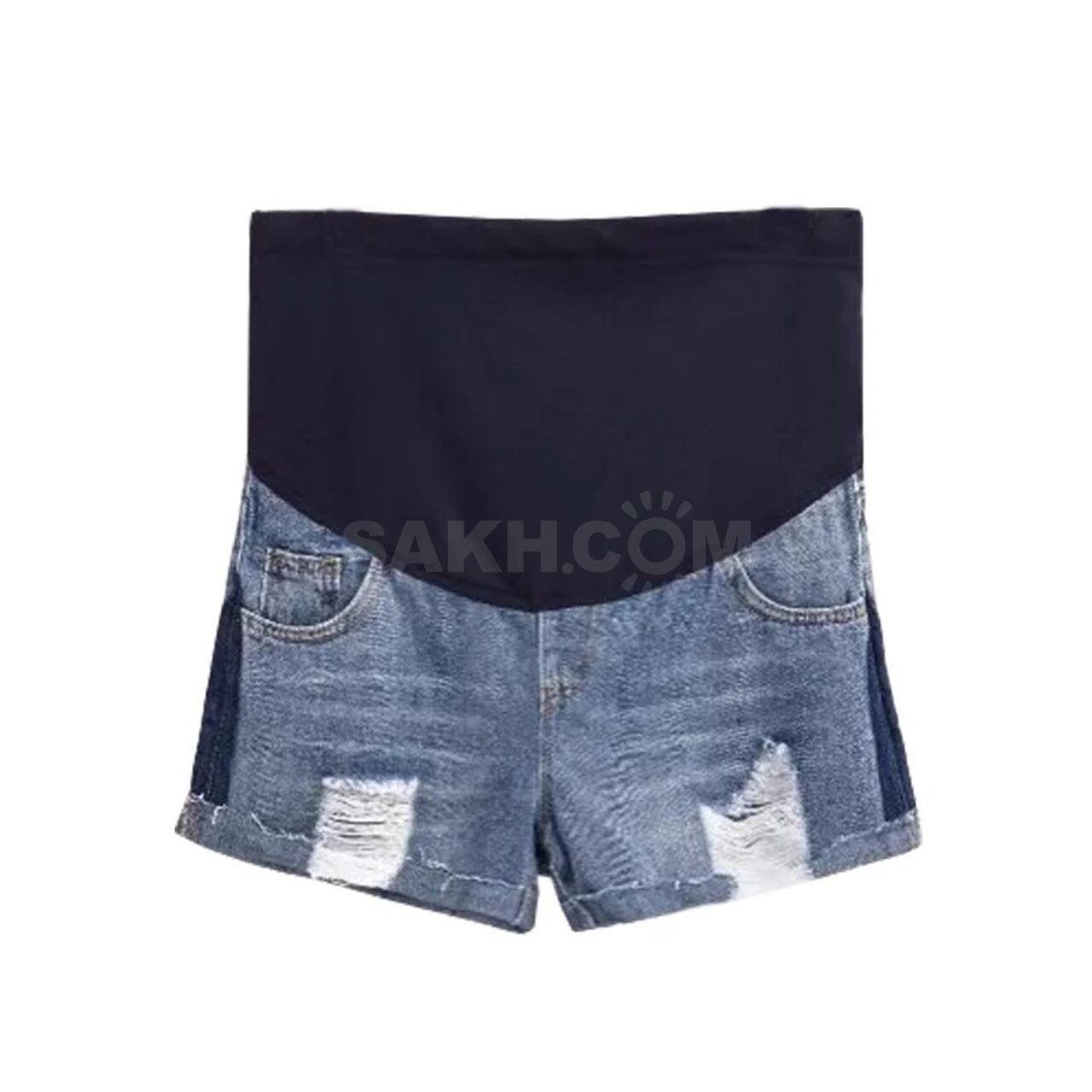 6dc435252e55 Новые джинсовые шорты для беременных - 1100 руб. Дети и материнство ...
