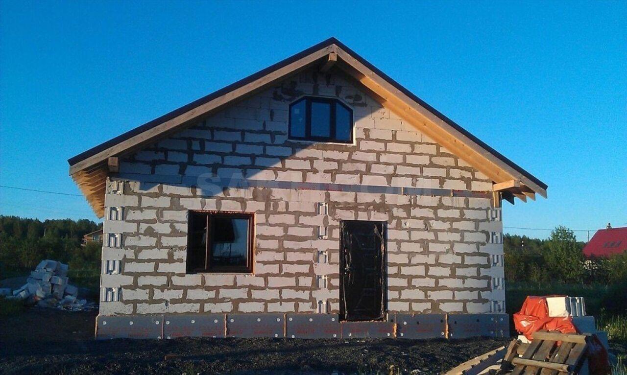 как построить дом из пеноблоков с мансардой