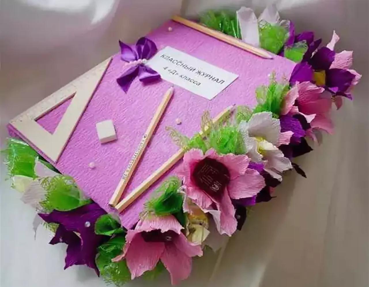 Букеты, цветы на день учителя своими руками