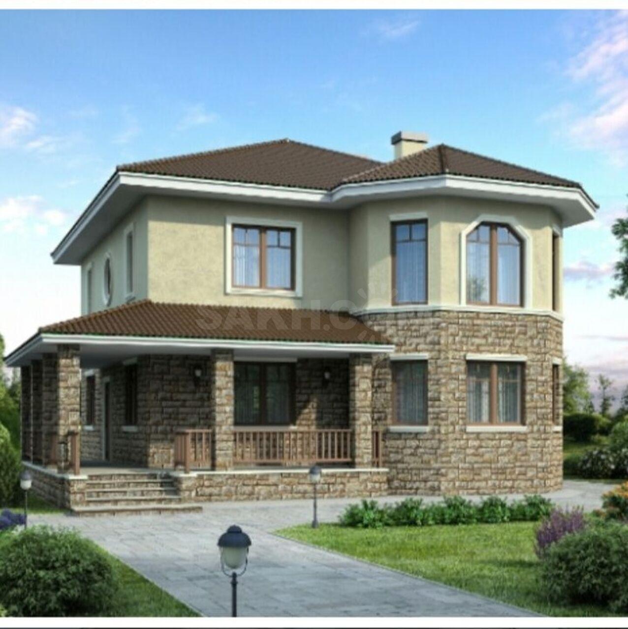 разные красивые двухэтажные дома фото проекты из кирпича вижу здесь царство