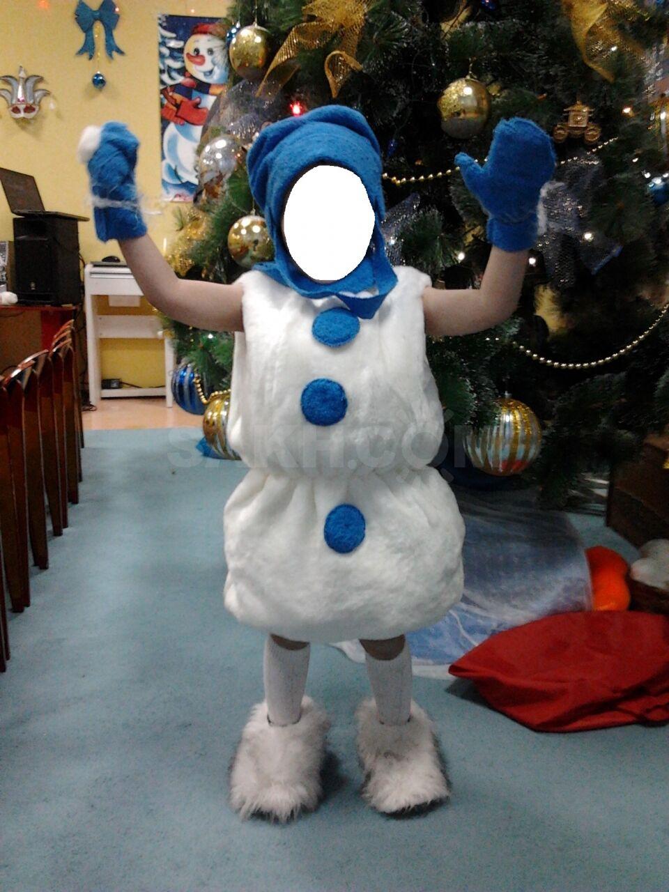 Новогодний костюм своими руками