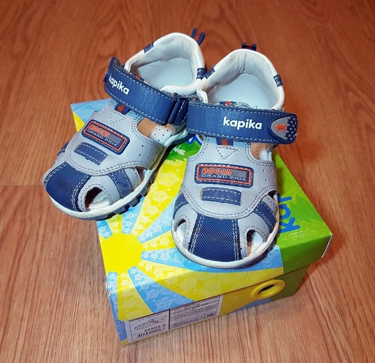 30eb6a360 сандалии Капика, кожа, рр 23 (14,5 см) - 900 руб. Дети и материнство ...