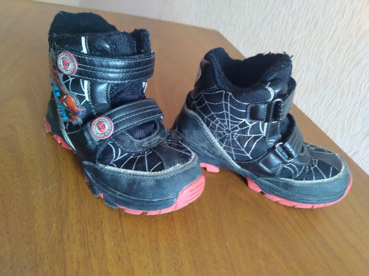 c45a6044 Продам зимние ботинки на мальчика размер 30. Жалко выкинуть,нам малы.
