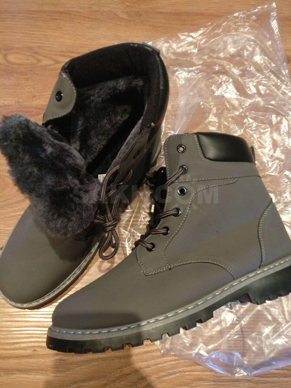 3dd7b84a2 Новые мужские зимние ботинки, 42 размер, китайский 44 размер - маломерки,  производство Китай.