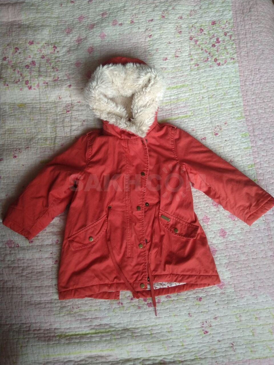 090bc014ed2 Продам парку фирмы Zara. Одевали один раз. Сезон  весна-осень. Рост 92см.