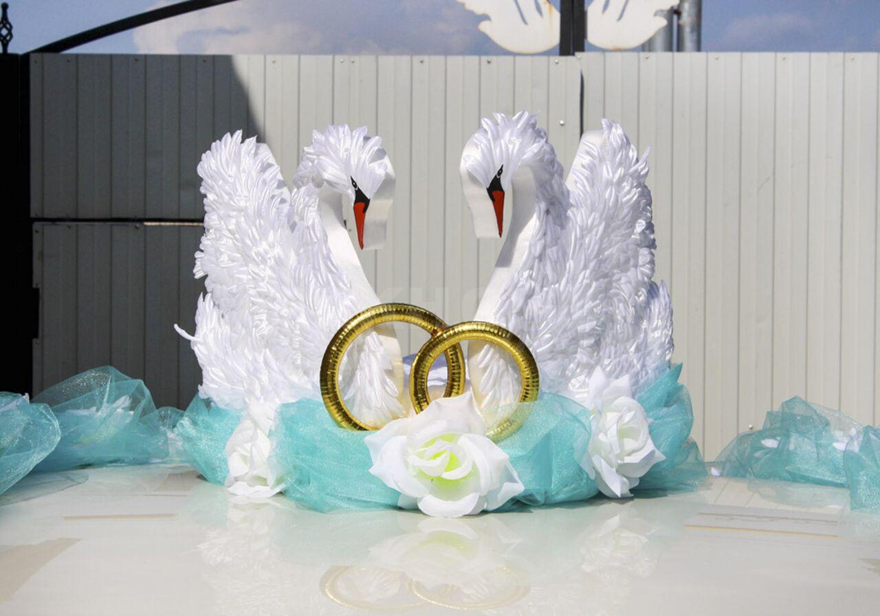 Поделки, свадебные картинки кольца лебеди