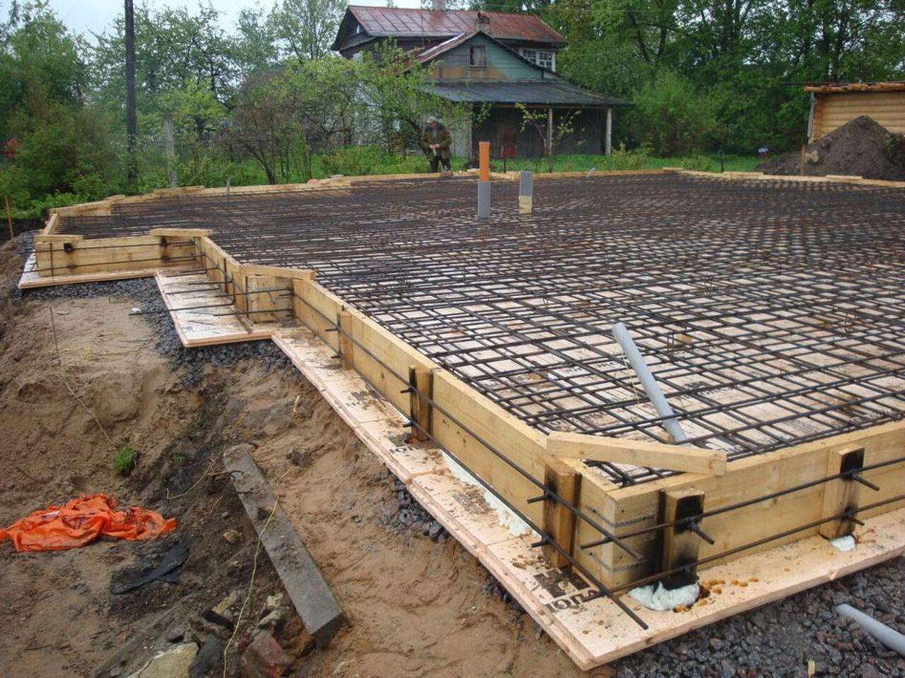 стоимость бетонного фундамента под дом