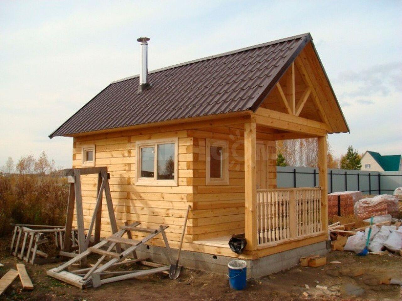 Строительство домов бань дач наши работы фото
