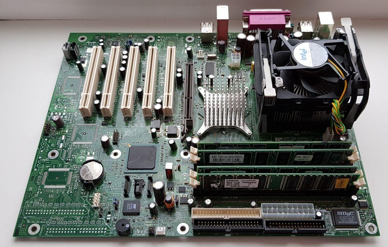 intel d865perl инструкция