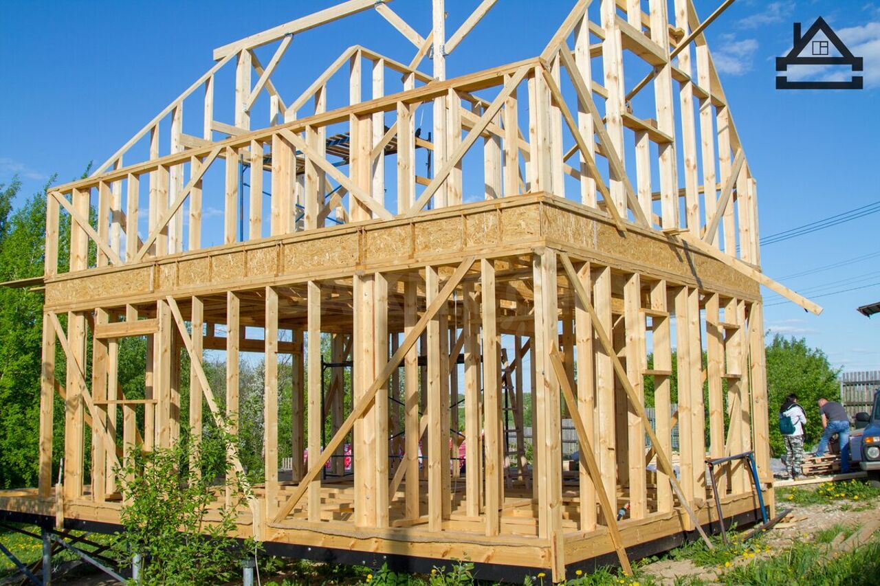опыт строительства каркасного дома