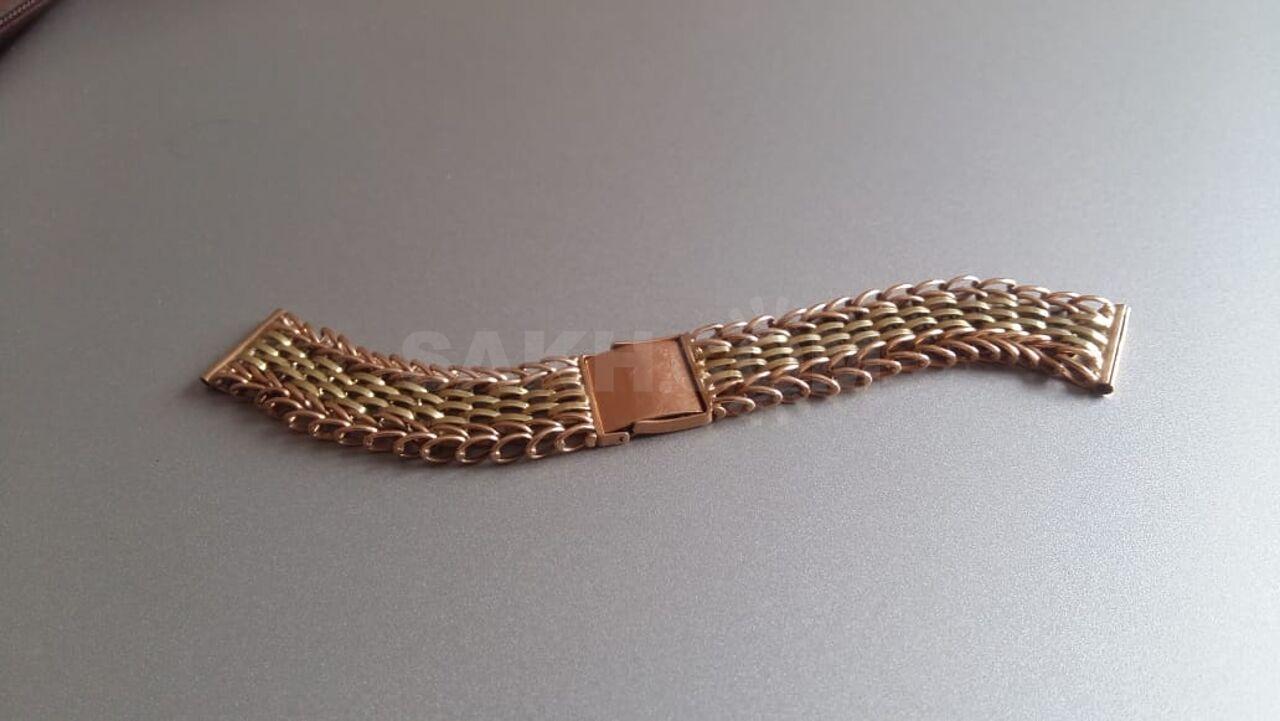 Для часов браслет золотой продам 23 продать камня позолоченные часы луч