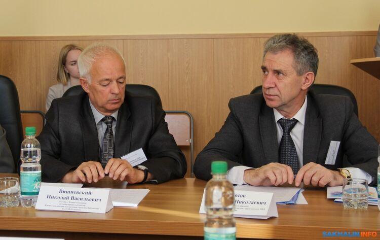 Николай Вишневский и Владимир Носов