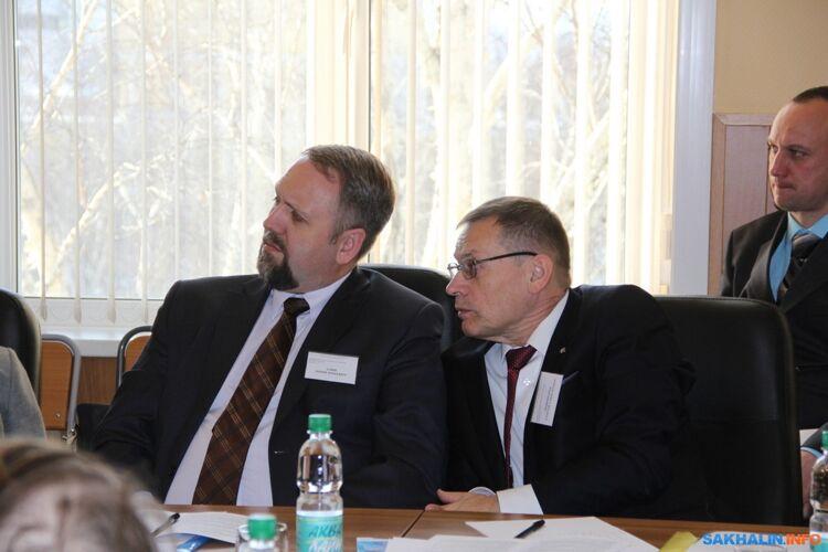 Юрий Алин и Сергей Пономарев