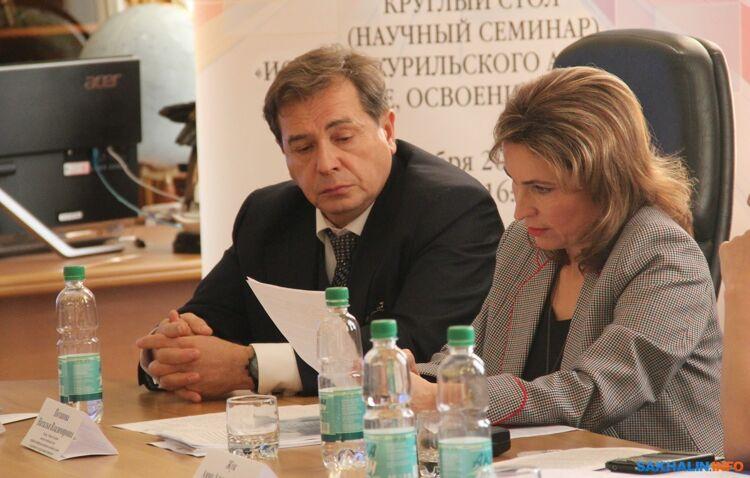 Александр Василевский и Наталья Потапова