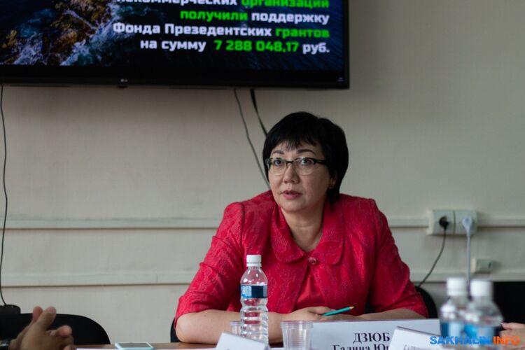Галина Дзюба