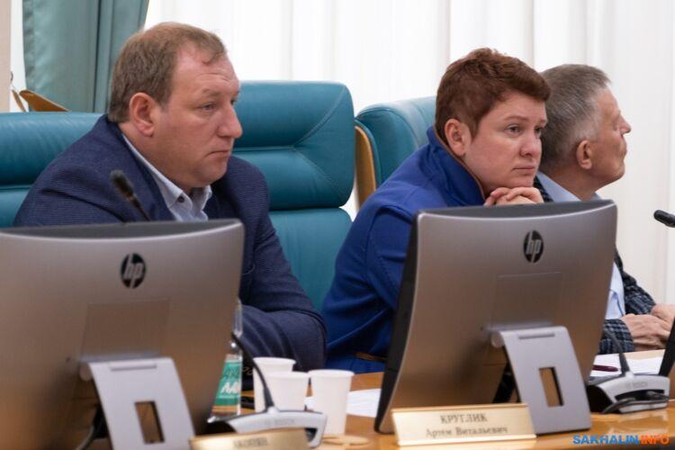 Артем Круглик и Наталья Лейдман