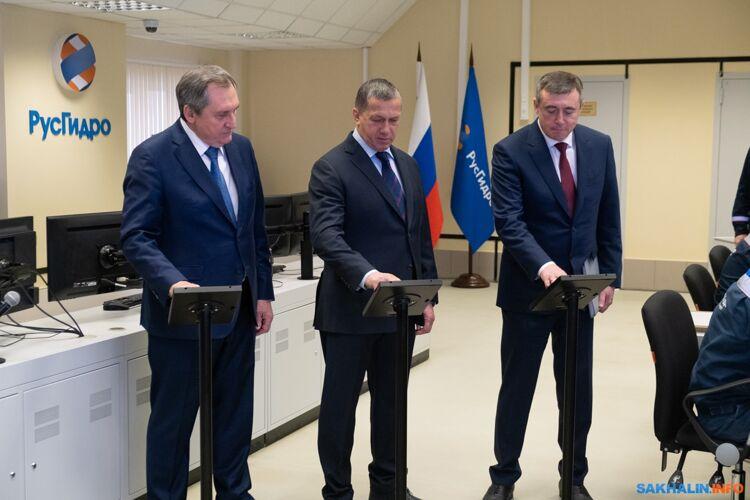 Николай Шульгинов, Юрий Трутнев и Валерий Лимаренко