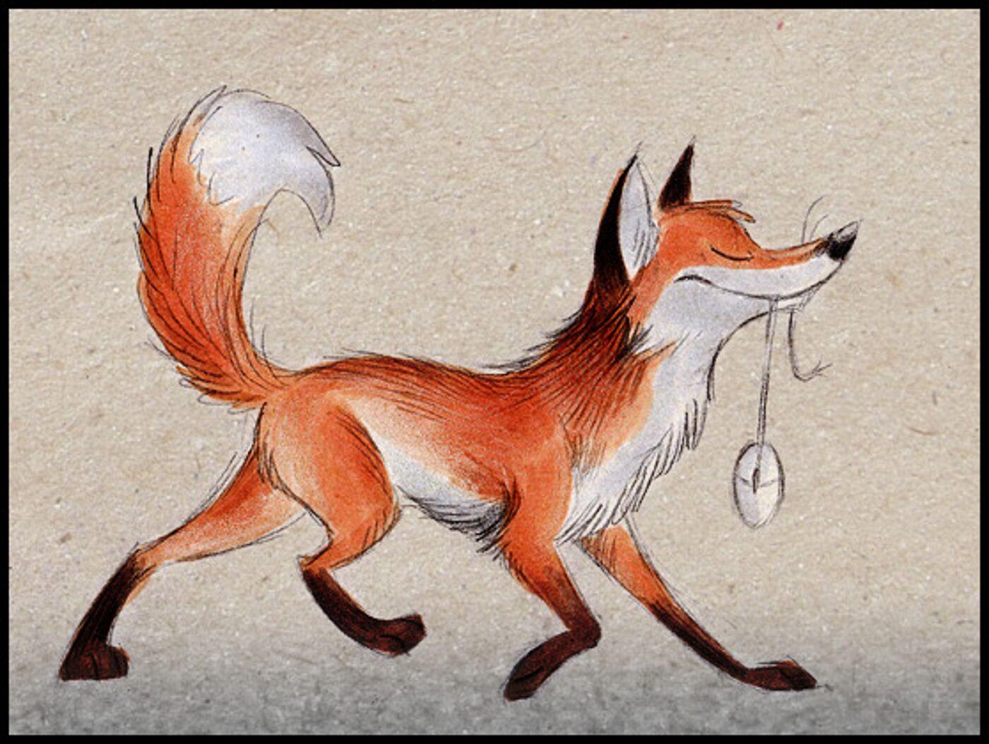 Найти картинку лосика и лисички