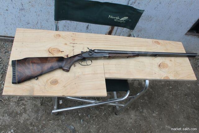 Курковое ружье ТОЗ-63 причём левый ствол