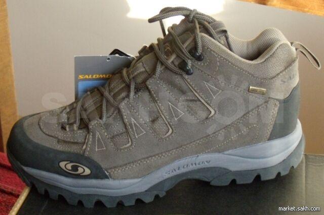 """Продам кроссовки Salomon """"Canyon Mid GTX"""" (серия X-Mountain)  технология  Gore-TEX  подошва contagrip. Всепогодные, всесезонные. Куплены в Чехии.  Размер 41½ ... 04b1b5585a2"""