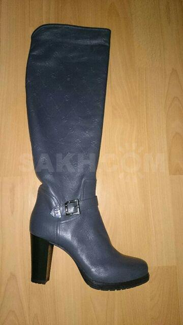 003313aaa Продам итальянские сапоги фирмы Loriblu, абсолютно новые, в коробке, цвет  серый, евро-зима, натуральный мех, натуральная кожа, размер 40, ...