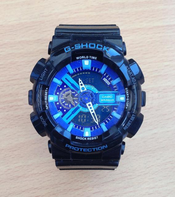 Часы casio g - shock — вот что необходимо купить!