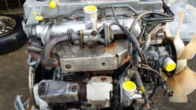 двигательMitsubishi pajero Паджеро 4M40T и TE Mitsubishi pajero delica