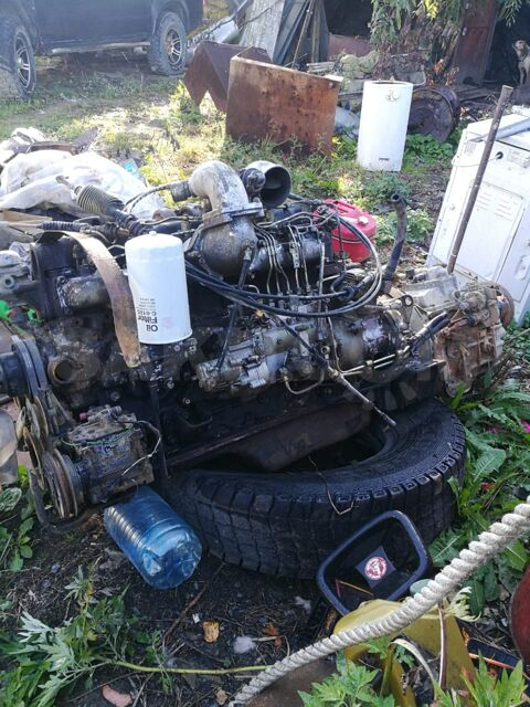Mitsubishi Fuso двигатель