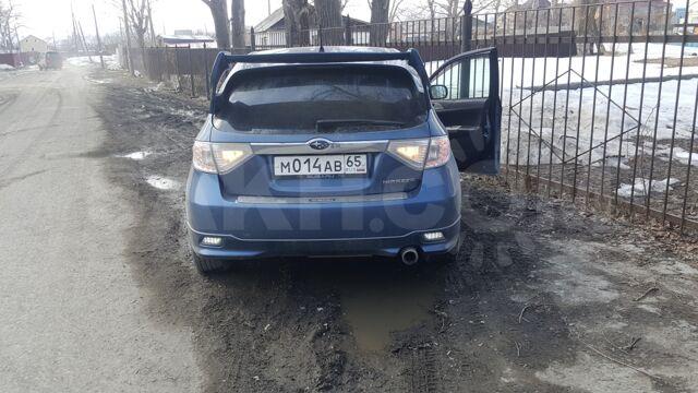 Бампер задний. Subaru.  Impreza.  GH.