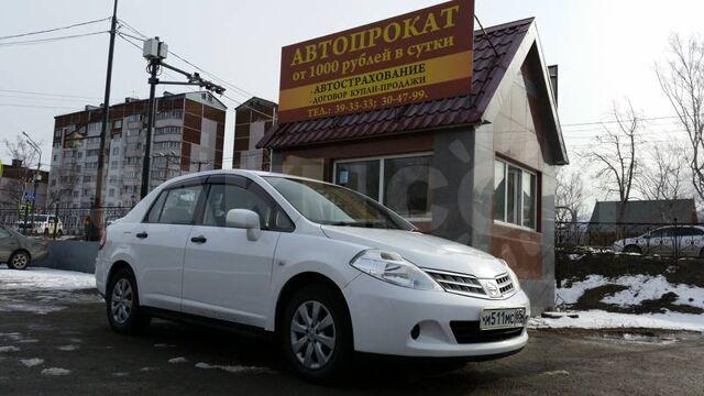 Аренда автомобиля  с выкупом nissan tiida