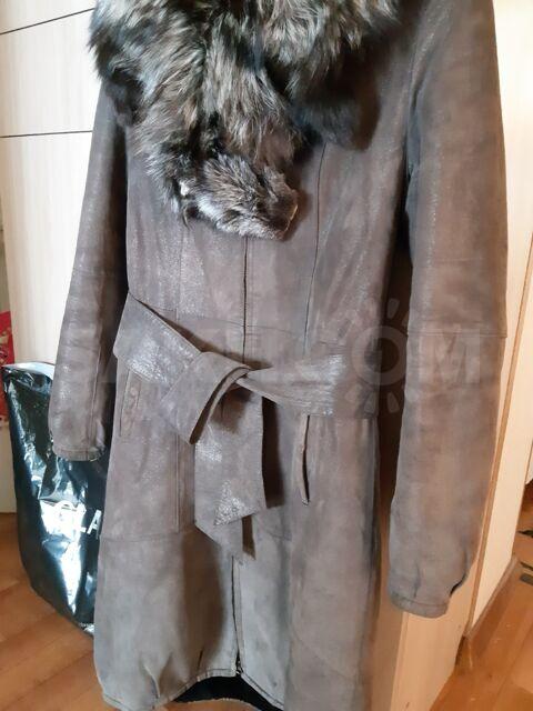 Дубленка - 5000 руб. Одежда, обувь и аксессуары. Женская одежда. Верхняя одежда. Дублёнки. Дублёнки в Охае. Объявления Сахалина